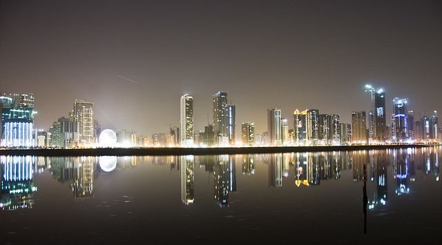 Reflections of Sharjah
