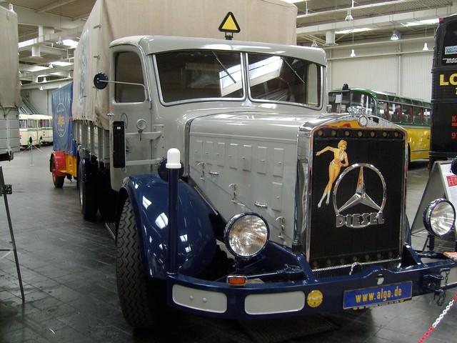 1939 mercedes benz l 6500 ii klasik otomobiller for Mercedes benz 6500