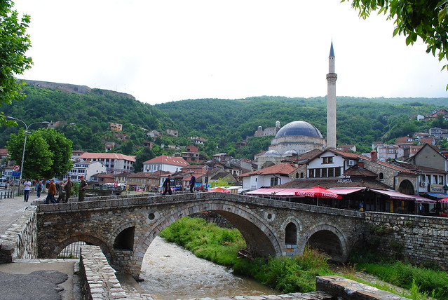 The Stone Bridge and Sinan Pasha Mosque