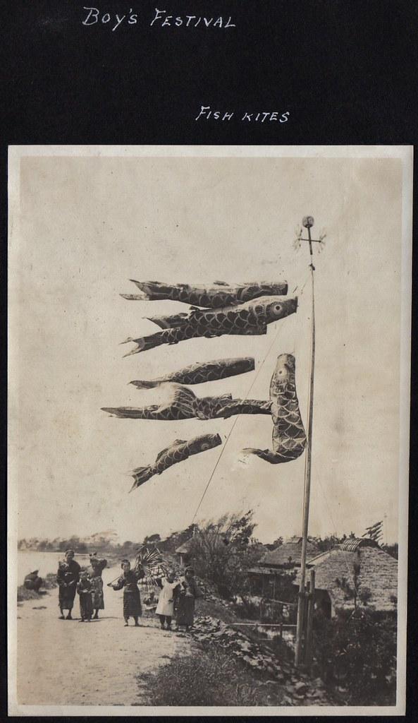Boy's Festival - Fish Kites