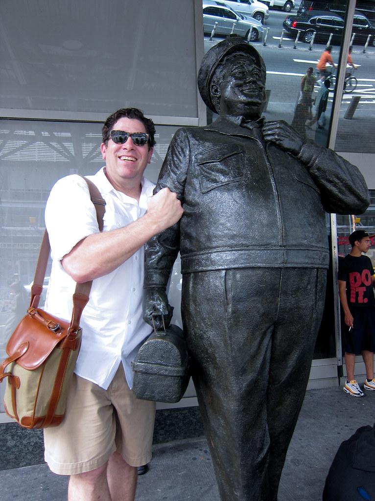 David & Ralph at Port Authority