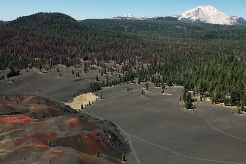 california volcano cindercone lassenvolcanicnationalpark august2010