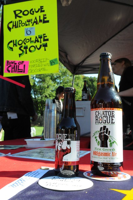 Some of the tasty beers visitors enjoyed at Chile Pepper Fiesta. Photo by Michael Ratliff.