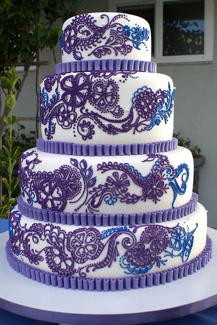 Royal Blue & Purple Inspired Wedding - Inspiration ...