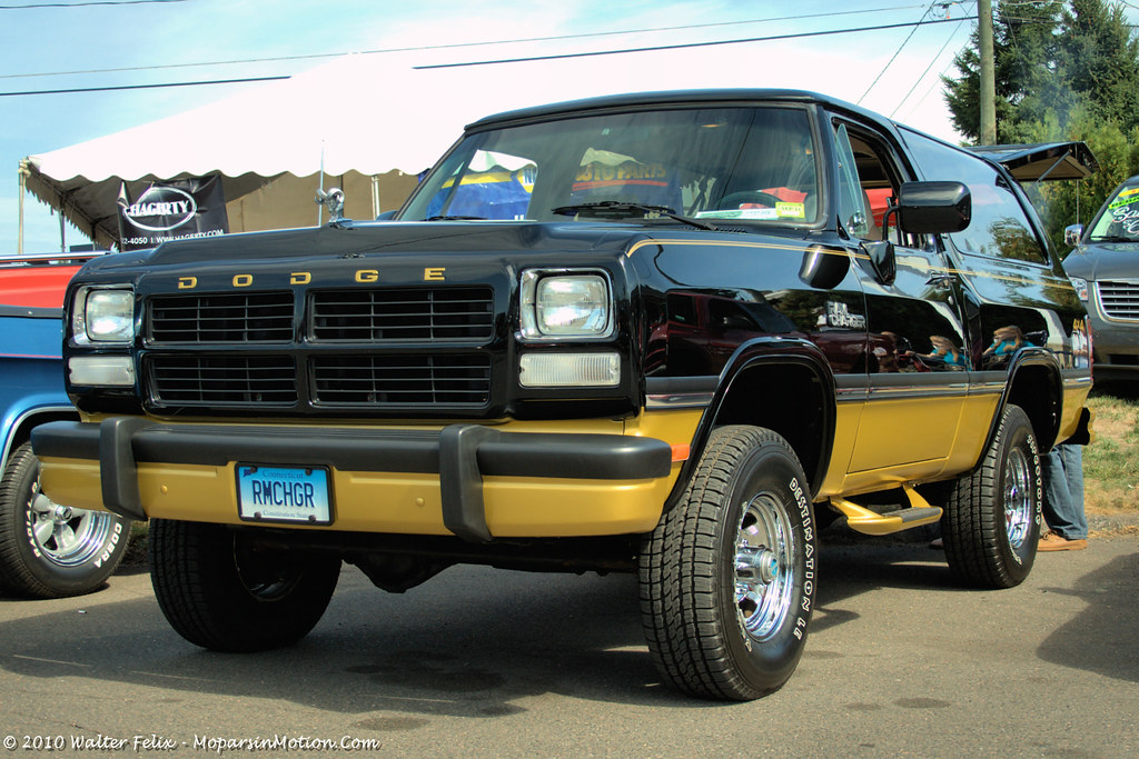 1991 Dodge Ramcharger Canyon Sport