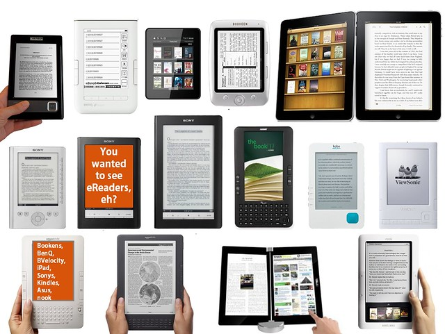 eBook Readers Galore