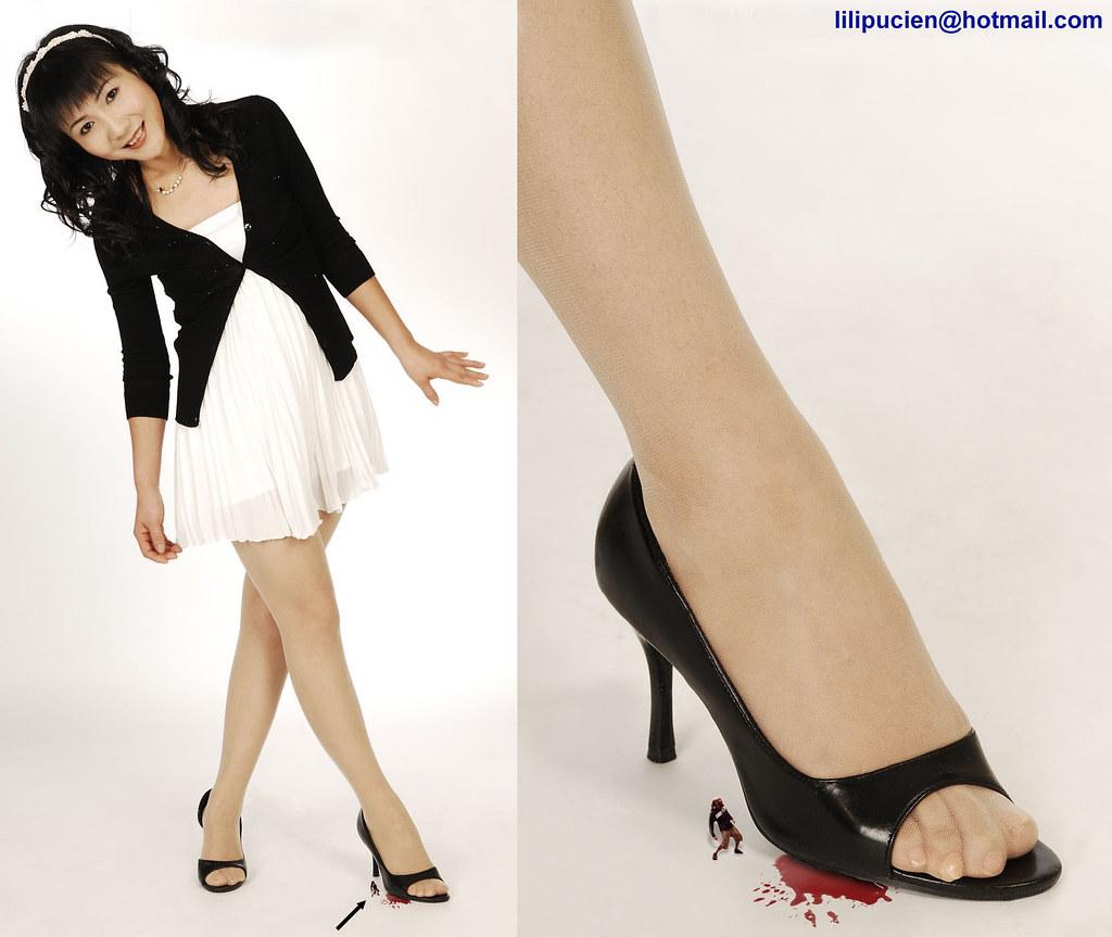 Giantess maria inshoe and feet worship