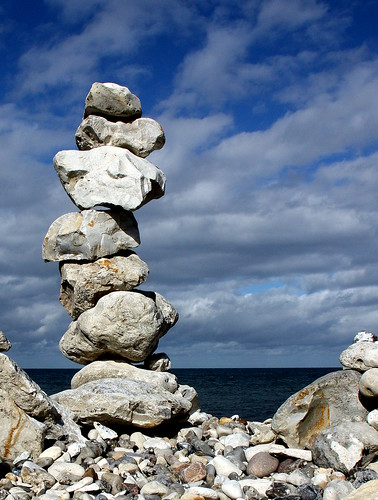 denmark zealand stonybeach stonecolumn canoneos450d passionateinspirations 攝影發燒友b klintebjerg