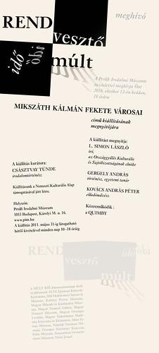Mikszáth Kálmán Fekete városai