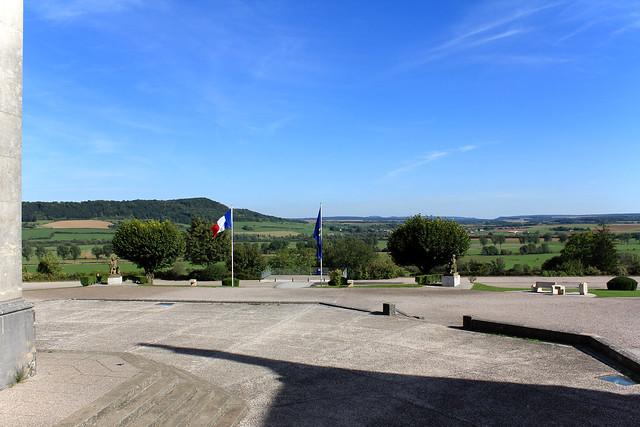 Vue de la terrasse de la basilique du BoisChenu  Explore v