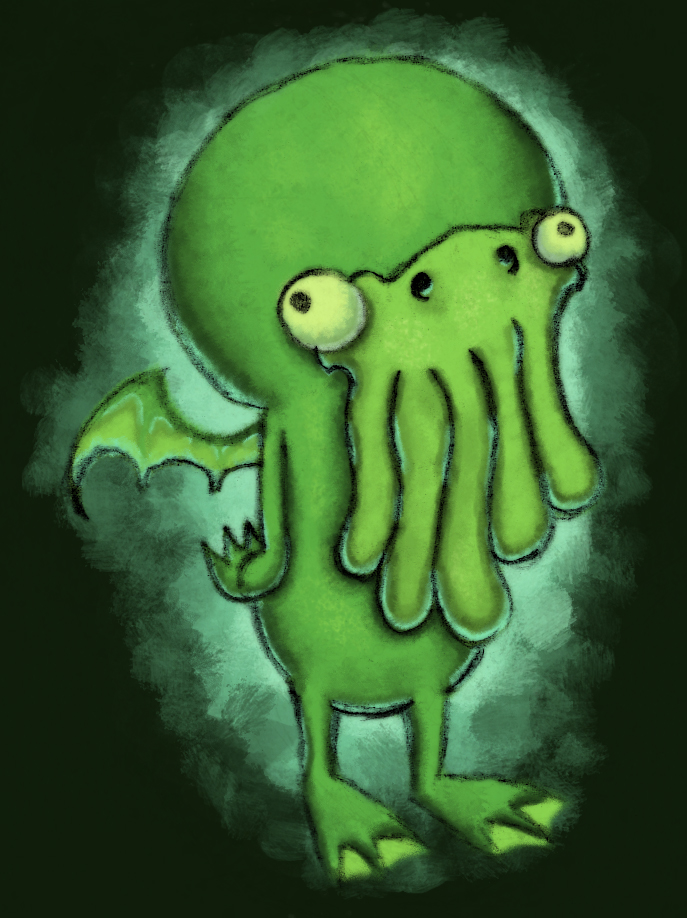 Baby Cthulhu (color)