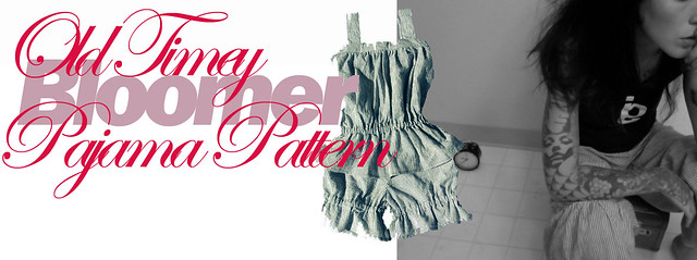Tenth Muse Studios Old-Timey Bloomer Pjs Pattern