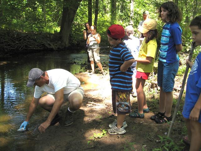 Riverkeeper Sampling on Sparkill Creek