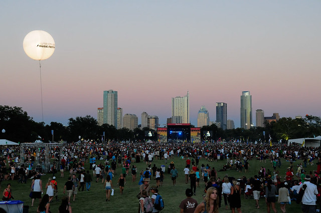 ATX Skyline from ACL Fest 2010