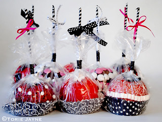 Candy Apples wrapped