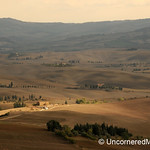 Looking into the Val d'Orcia - Pienza, Tuscany