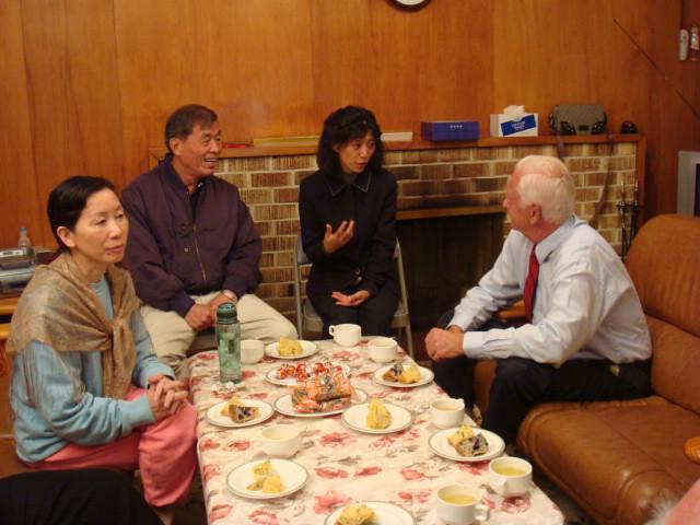 台紐教育座談(2009年4月份-金色山莊安排雲林縣教育參訪團赴紐考察)