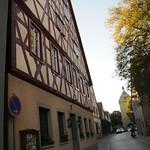 Street Scene in Frickenhausen, Bavaria