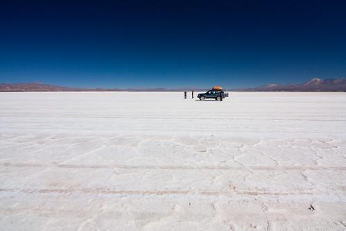 Bolivia -  Salar de Coipasa