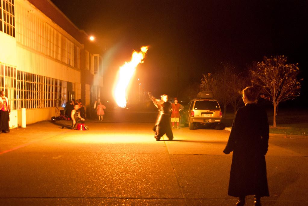 Ignition: Big fire