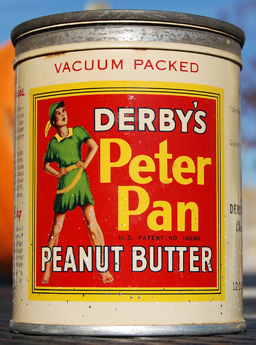 Derby's Peter Pan Peanut Butter, 1940's - a photo on ...