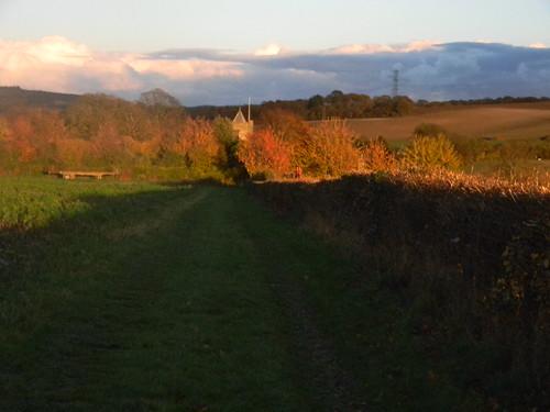 Approaching Luddesdown