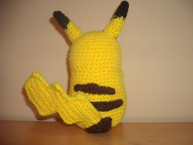 Crochet Pattern For Pikachu : pikachu crochet 2 Flickr - Photo Sharing!