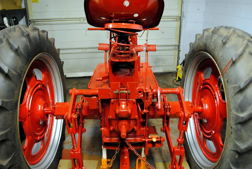 Farmall M Controls : My farmall c restoration progress mytractorforum