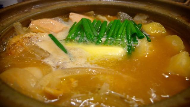 20101030_日本東北玩第二天_061 赤鬼 鮭魚鍋物