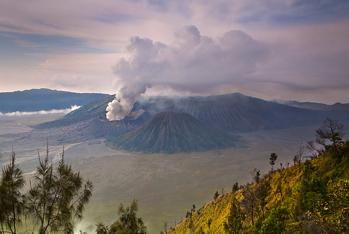 indonesia volcano java east mount bromo