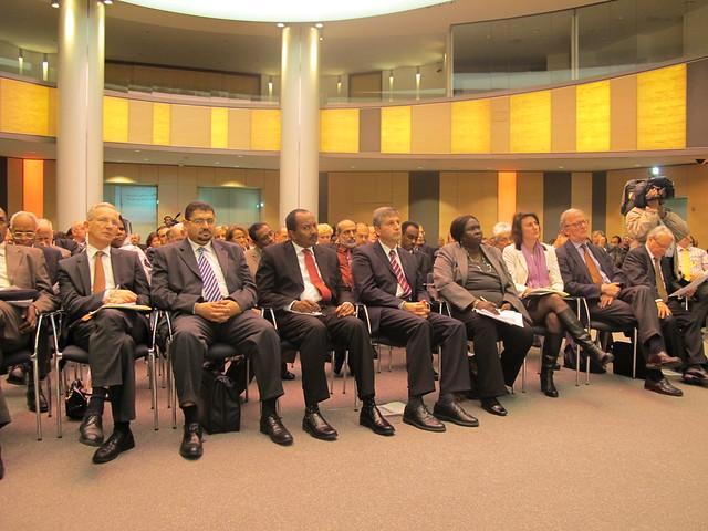 Sudanesischer Botschafter Elamin, Außenminister Spindelegger und BM a.D. Einem