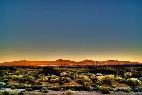 sunset sky mountains franklin desert sony el paso elpaso alpha a330 transmoutain
