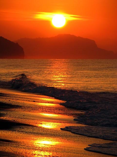 Sunrise over Alanya