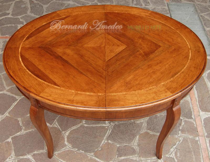 Tavolo Allungabile A Spicchi.Tavolo Ovale Allungabile In Noce 130x100 Tavolo Ovale Allu Flickr