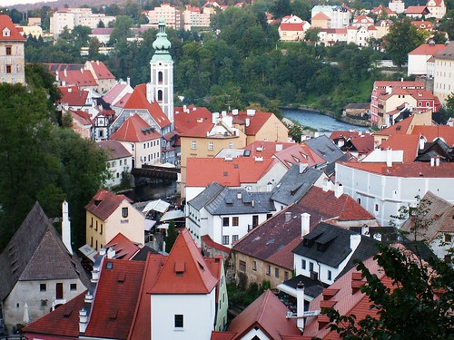 The rooftops of Cesky Krumlov VIII