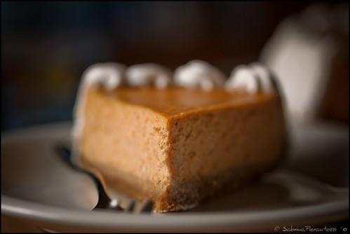Pumpkin Cheesecake 2/2