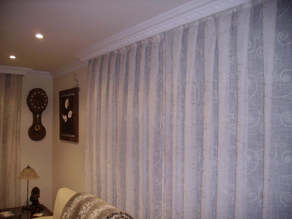 Galer a lbum visillo bordado - Formas de cortinas ...