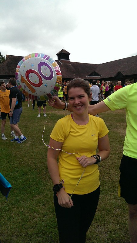 The smile says it all. Very well done on your 100th Parkrun :-).