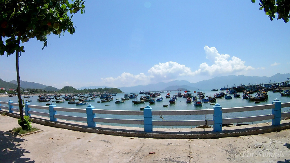 Vietnam fishing village