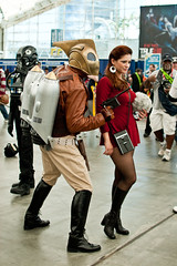 rocketeer and a star fleet officer