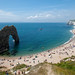 The Beach at Durdle Door by jingjok