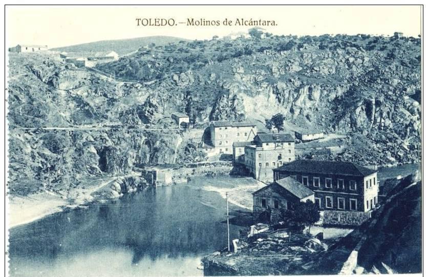 Molinos de Alcántara y Parador del Macho a inicios del siglo XX