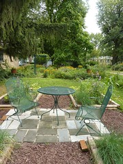 Huge Square Foot Garden (sitting area)