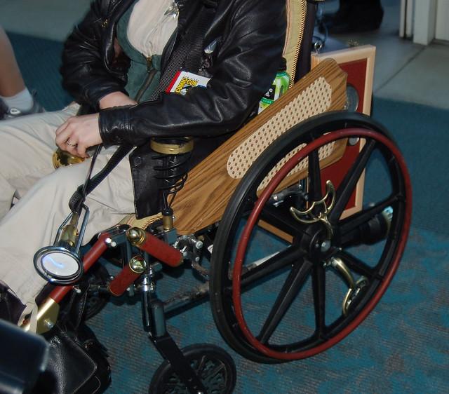 Comic Con 2010: Steam Punk Wheelchair