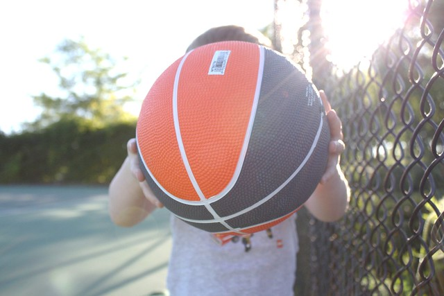 new baby basketball.