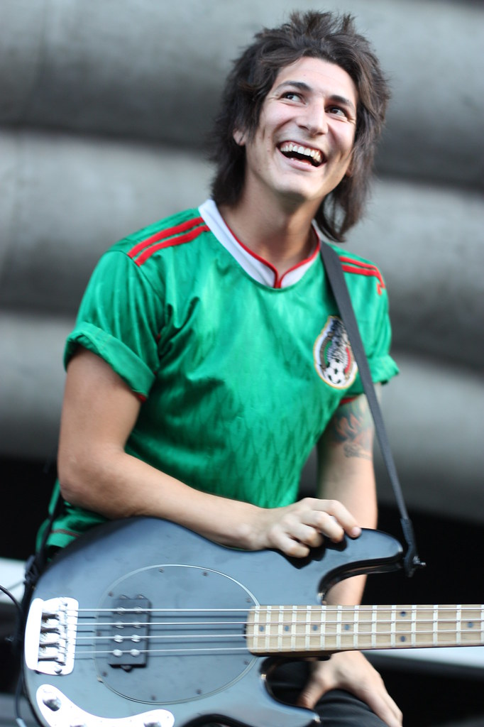 Jaime Preciado of Pierce the Veil | Flickr - Photo Sharing!