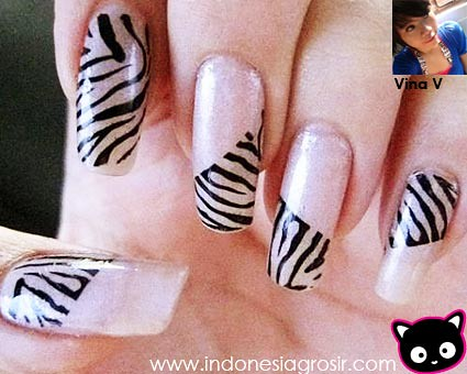 Nail art 115 a gallery on flickr blink stamping nail art prinsesfo Image collections