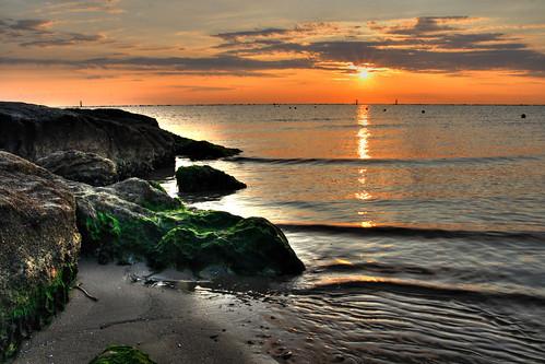 sea italy beach sunrise italia mare alba doc 2009 spiaggia hdr romagna cesenatico marcobalzani
