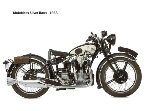 Matchless Silverhawk 1933