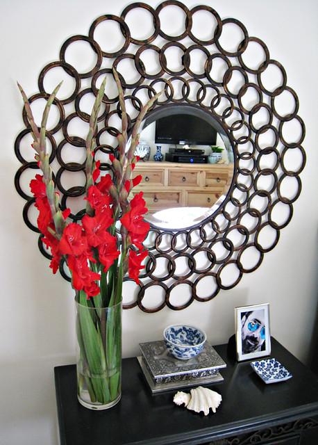 cirlcles mirror+large round mirror+accent mirror+decoratin ...
